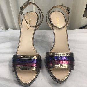Prada Shoes - Gorgeous and groovy Prada sandals